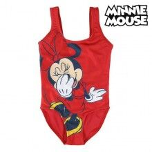 Child's Bathing Costume Minnie Mouse Red