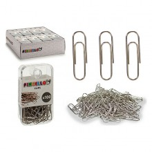 Clips Chromed (100 Pieces)