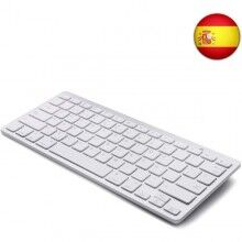 Bluetooth Keyboard Wireless White (Refurbished A+)