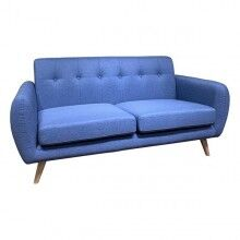 3-Seater Sofa beech wood (170 x 77 x 83 cm)