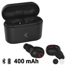 Bluetooth Headset with Microphone KSIX Free Pods 400 mAh