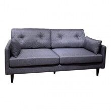 3-Seater Sofa beech wood (185 x 85 x 84 cm)
