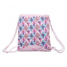 Backpack with Strings Moos Flamingo Pink