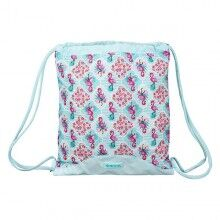 Backpack with Strings Moos Flamingo Turquoise