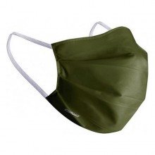 Hygienic Reusable Fabric Mask Green Adult
