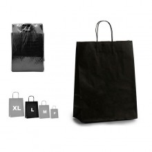 Paper Bag Black (12 x 52 x 32 cm)