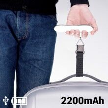 Suitcase Scales with Power Bank 2200 mAh 145336