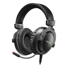 Gaming Headset with Microphone Mars Gaming MH4X LED (2 m) Black