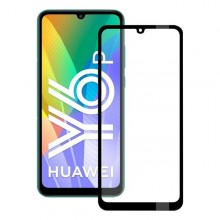 Tempered Glass Screen Protector Huawei Y6P KSIX Full Glue 2.5D