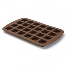 Oven Mould Brownies Silicone (12 x 3,6 x 19 cm) 24 uds