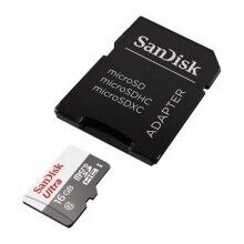 Micro SD Memory Card with Adaptor SanDisk SDSQUNS-GN3MA C10 80 MB/s-100 MB/s