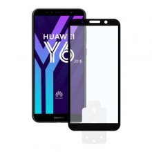 Tempered Glass Mobile Screen Protector Huawei Y6 2018 2.5D Black