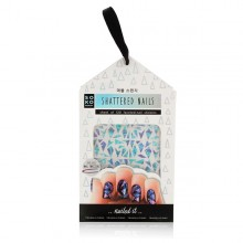 Nail art stickers Shattered Nails Soko Ready (120 uds)