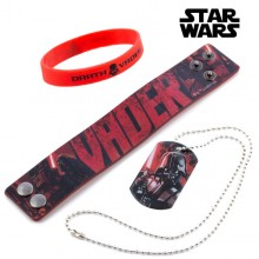 Darth Vader (Star Wars) Armband und Anhänger