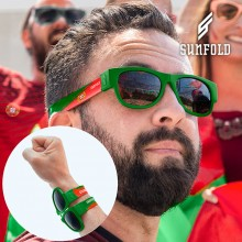 OUTLET Sunfold World Cup Portugal Aufrollbare Sonnenbrille (Ohne verpackung)