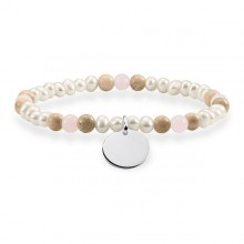 Ladies'Bracelet Thomas Sabo LBA0110-350-7-L15,5 (15,5 cm)