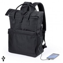 Rucksack for Laptop and Tablet with USB Output 145532