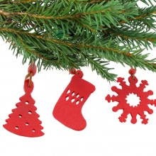 Christmas Decorations Set (9 pcs) 143421