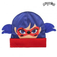 Child Hat with Ears Lady Bug 645