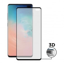 Curved Tempered Glass Screen Protector Samsung Galaxy S10+ Contact Extreme Curved