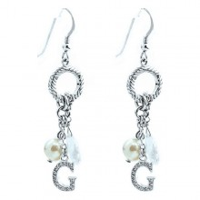 Ladies'Earrings GC Watches CP306E07 Silver (4 Cm)