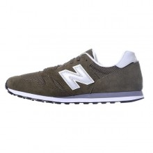 Men's Casual Trainers New Balance ML373OLV Green Grey