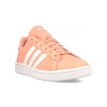 Women's Casual Trainers Adidas Grand Court Base Pink