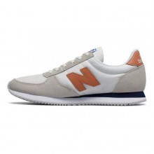 Women's Casual Trainers New Balance WL220 AB White Beige