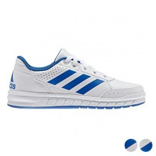 Sports Shoes for Kids Adidas AltaSport White Blue