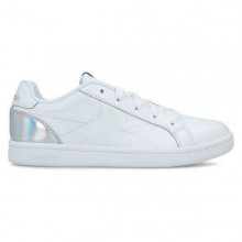 Children's Casual Trainers Reebok Royal Complete Clean Junior White Silver
