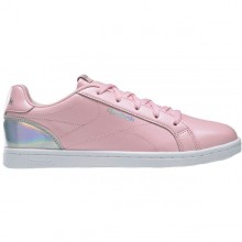 Children's Casual Trainers Reebok Royal Complete Pink Silver