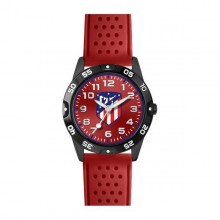Children's Watch Atlético Madrid Red Black
