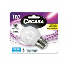 Spherical LED Light Bulb Cegasa E27 5,5 W A+
