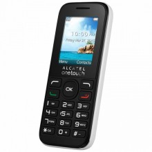 "Mobile telephone for older adults Alcatel 10-50 1,8"" TFT RADIO FM DUAL SIM White"