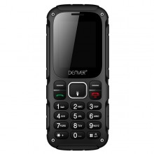 "Mobile telephone for older adults Denver Electronics WAS-18110M 1,77"" TFT SMS DUAL SIM MICRO USB Black"