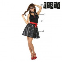 Costume for Adults Th3 Party 50s Black