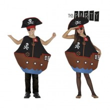 Costume for Children Th3 Party Pirate ship