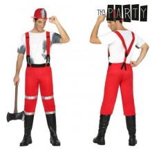 Costume for Adults Th3 Party Fireman