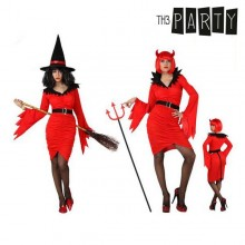 Costume for Adults Th3 Party Witch Female demon