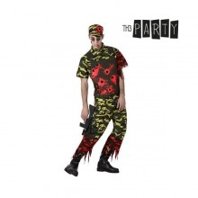 Costume for Adults Th3 Party 9040 Zombie soldier