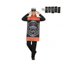 Costume for Adults Th3 Party 2023 Whisky bottle