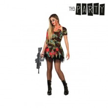 Costume per Adulti Th3 Party Militare zombie sexy