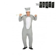 Costume for Adults Th3 Party Dog Grey