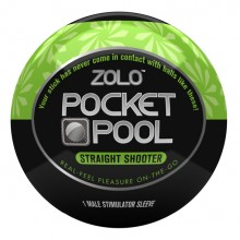 Pocket Pool Straight Shooter Zolo ZOLOPPSTS