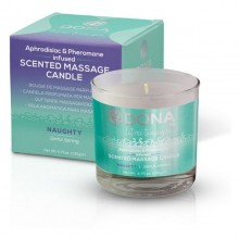 Scented Massage Candle Sinful Spring 225 ml Dona 5581