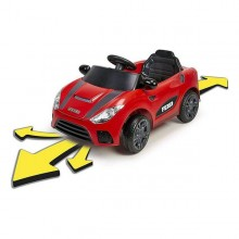 Children's Electric Car Feber My Real Car 6V Red