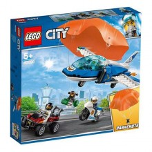 Playset City Police Parachute Arrest Lego 60208