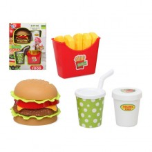 Set of Meals Fast Food