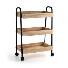 Vegetable trolley Quid Cotton Wood