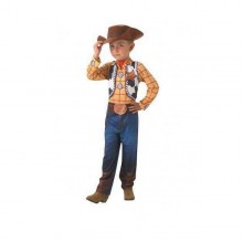Costume for Children Woody Toy Story Rubies (Size 5-7 years)
